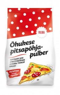 Vilma õhukese pitsapõhja pulber